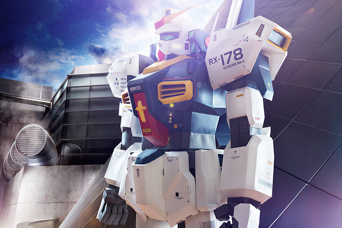 Ultimate Gundam papercraft model